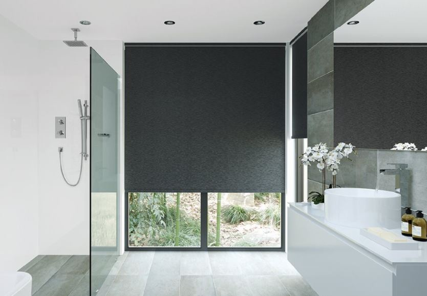 AOneBlinds_Tauranga_Waikato_Roller_Blinds_LL_-_Bathroom_-_Black.JPG
